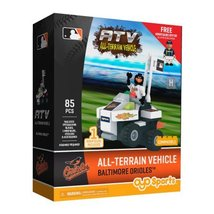 OYO Sports MLB All-Terrain Vehicle with Super Fan Building Set Baltimore... - $40.78