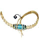 "3 NEW Sea Turtle 12"" Hemp Bracelets Anklets wrist jewelry - $8.99"