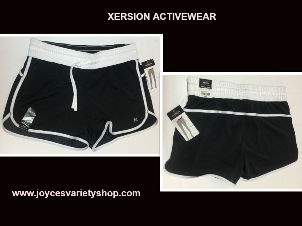 Xersion active shorts web collage