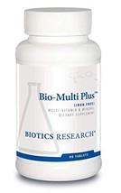 Biotics Research Bio-Multi Plus Iron Free - Multivitamin, Chelated Minerals, Iro