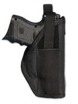 Smith & Wesson Compact mdl 4040 Auto Nylon Belt Clip Holster Made USA le... - $13.98
