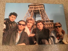 George Michael Duran Duran teen magazine poster clipping stunning pose Bop