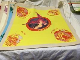 vintage Dragon Dice yellow game mat unused TSR - $4.95