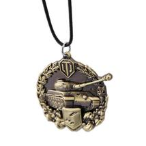 Word of Tanks Unisex Pendant / Necklace with Chain - Gaming, 3 Colour Variants image 3