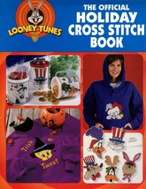 Looney Tune The Official Holiday Cross Stitch Book Tweety Pepe  Leaflet ... - $7.00