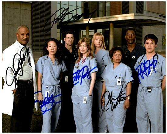 Primary image for GREY'S ANATOMY Cast  - Autographed Signed  Photo w/COA - 27089