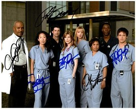 GREY'S ANATOMY Cast  - Autographed Signed  Photo w/COA - 27089 - $240.00
