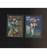 1998 Topps Chrome Refractor Seasons Best Jeff Blake Kevin Greene - $2.99