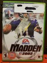 MADDEN NFL 2002 for Original Microsoft Xbox System Complete - $4.54