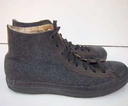 Wool 5 Gray 10 Taylor Chuck Men's Shoes Charcoal All Top Stars CONVERSE High nO7YX4nq