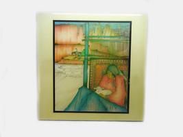 Artisan Amado Pena Native American/New Mexico Art Tile, Vintage 1943 - $49.95