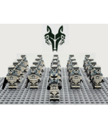 21pcs Star Wars Commander Wolffe 104th Battalion Wolfpack Troopers Minif... - $29.99