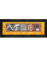 Aspen, Colorado Framed Letter Art - $39.95