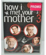 NEW HOW I MET YOUR MOTHER - SEASON 3 Neil Patrick Harris DVD - $10.66