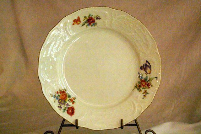 Primary image for Rosenthal Pink Orange Purple Sanssouci Classic Line Dinner Plate 9 3/4""