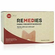 Ensemble De 3 Remedies Bout Du Doigt Bandage W Anti-adhésif Coussin, 1 3... - $8.89