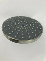 "6-1/4"" Light-Weight Round Brushed Nickel Rainfall Shower Head, Shower He... - $18.50"