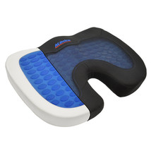 ACDelco Orthopedic Cooling Gel Therapy Coccyx Seat Cushion Memory Foam Back - $23.27