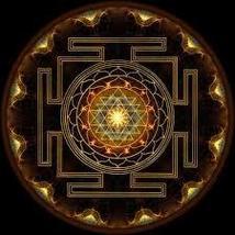 Sacred Sri Yantra Pendant. For abundance with the power of sacred geometry.  - $39.99