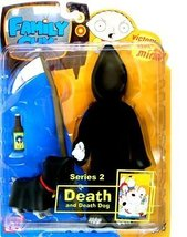 Family Guy Mezco Series 2 Action Figure Death with Death Dog - $29.70