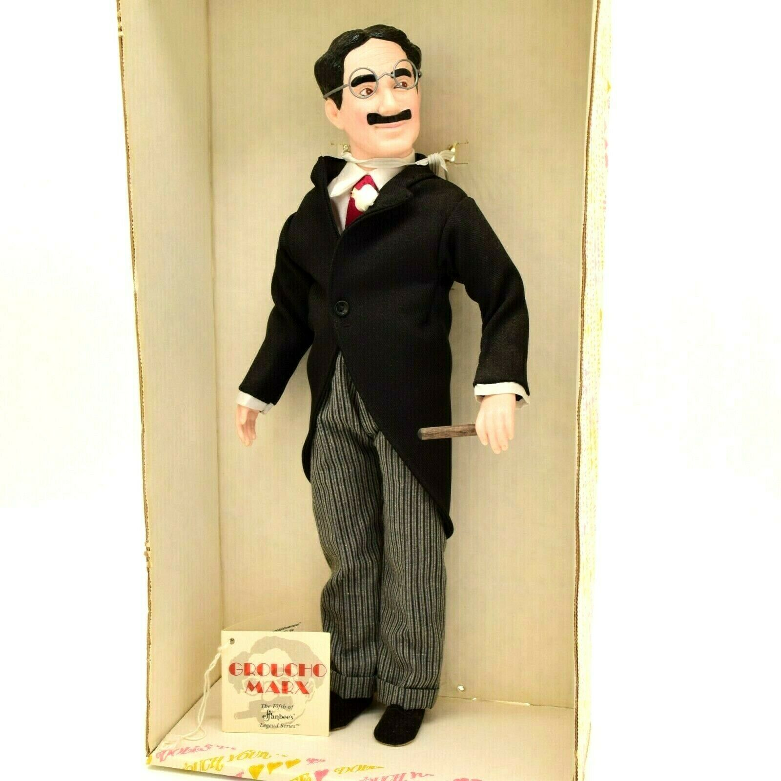 Primary image for Vintage Effanbee's Collectible Legend Series Groucho Marx Doll in Box 1983