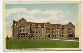 Dormitory Northern Illinois University De Kalb Illinois 1920s postcard - $7.00