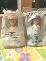 Madame Alexander 2004 McDonalds Flower Girl & Ring Carrier Boy Doll Set ... - $18.99