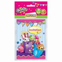 Shopkins Party Invitations, 8ct - $4.89