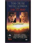 Far and Away (1992) VINTAGE VHS Cassette  - $13.99