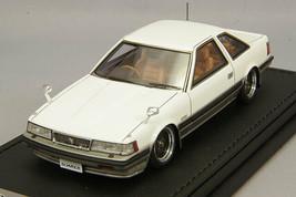 Ignition Model IG1393 1/43 Toyota Soarer 2800GT Limited Z10 White/Gold SSR New - $262.24