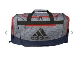 ONIX JERSEY/COL NAVY adidas Defender III Medium Duffle Bag (D) - $168.29