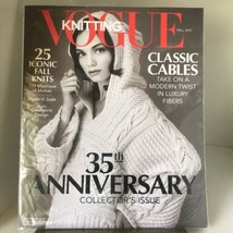 Vogue Knitting Magazine Fall 2017 Collector's 35th Anniversary Issue NIP - $8.99