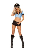 Roma Sexy Sassy Police Cop Officer 5pc Costume 4925 - $44.99