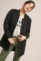 New Anthropologie Left Bank Wool Jacket by Mo:Vint $350 Black X-SMALL  - $88.11