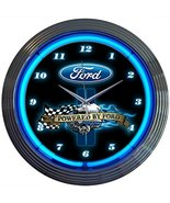 Neonetics 8PWDFORD Powered By Ford Neon Clock - $83.99