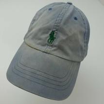 Polo Ralph Lauren Faded Blue Adjustable Adult Baseball Ball Cap Hat - $22.76