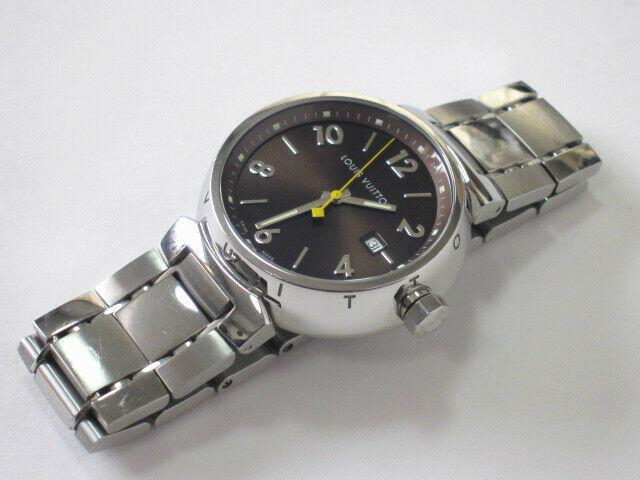 Louis Vuitton Tambour Auth Q11111 Men's Watches stainless genus