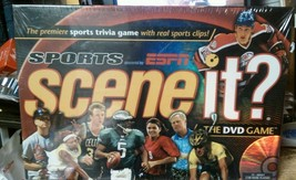 Scene It? Sports Edition powered by ESPN The DVD Game Brand New Factory Sealed - $14.49