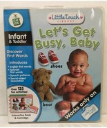 LeapFrog LittleTouch LeapPad Educational Book: Let's Get Busy, Baby - Te... - $11.88