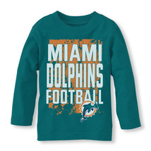 NFL Miami Dolphins Boy or Girl Long Sleeve Shirt  Infant  Size 6-9 or 9-... - $17.99