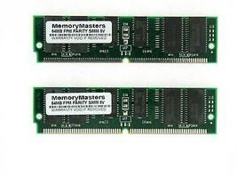128MB (2X64MB) FPM PARITY 60NS SIMM 72-PIN 5V 16X36 - $18.76