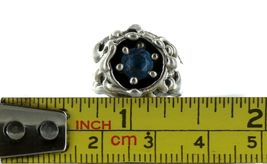 Ladies Size 5 Sterling Silver Sky Blue Topaz Fashion Ring No, 2101 image 8