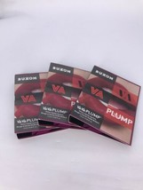 3x BUXOM Va Va Plump Shiny Lipstick in WINE ME .05oz Travel Size - $11.34