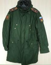 Original Russian Army Officer Winter Jacket Parka Uniform Military Size ... - $89.59