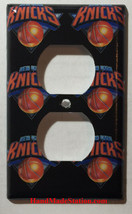 NY Knicks Toggle Rocker Light Switch Power Outlet Wall Cover Plate Home decor image 2