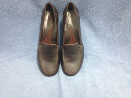 Clarks Artisan Collection Shoes -Brown Leather Women's Size 8.5 M - $23.36