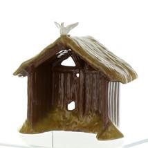 Hagen Renaker Nativity Manger with Dove Ceramic Figurine
