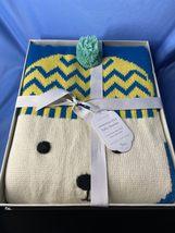 Pottery Barn Baby The Snowman Knit Polar Bear Baby Blanket With Knitting... - $15.99