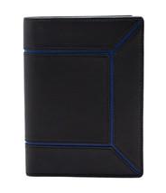 Zilli Men's Black Calf Leather Passport Case Holder with Logo, Free Ship... - £398.76 GBP