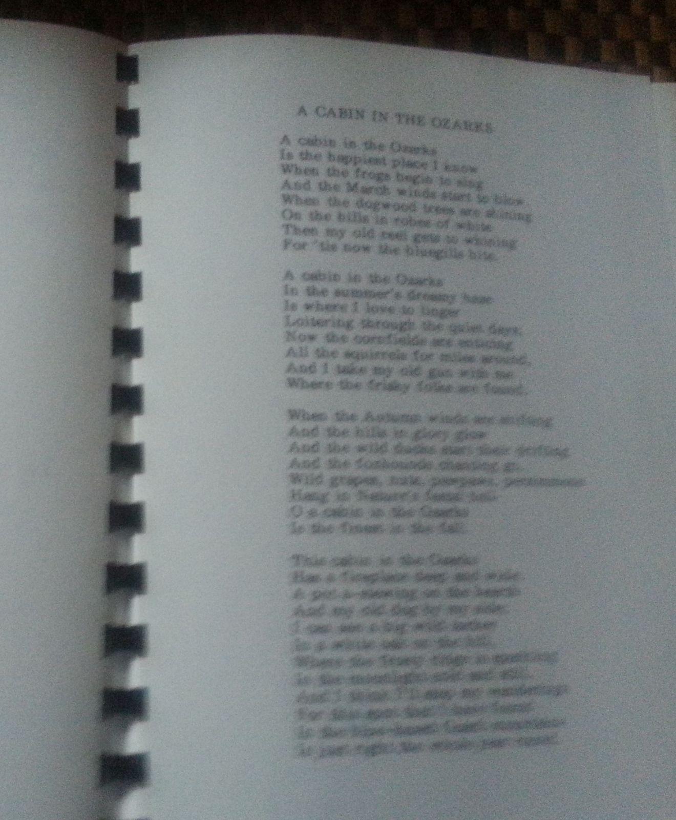 Marigold Gold by Mary Elizabeth Mahnkey 1990 SC Poetry Ozarks